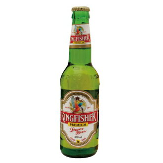Kingfisher Premium Lager bottle 330 ml bottle beer KINGFISHER PREMIUM LAGER BEER India Beer, sake is 20-year-old from