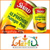 450 g of mango puree *6 product that there is a dent in in India, normal flight, can for duties, Mango Pulp, mango pulp