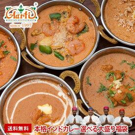 【送料無料】神戸アールティー『選べる大盛り福袋』厳選20種類の本格インド料理から 選べる 福袋 ギフト 母の日