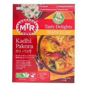 MTR カディパコラカレー 300gx10箱 宅配便送料無料豆コロッケが入ったヨーグルト風味の北インドカレーインドの大手食品メーカーの作った、インド人好みのレトルト本格インドカレー!簡単お