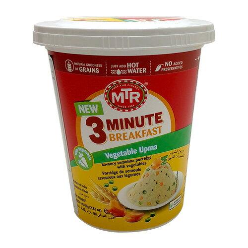 MTR ベジタブルウプマ Vegtable upma Cup 80g 日本正規販売店 ライスカレー 非常食 即席ごはん カレーめし インドカレー 業務用 神戸スパイス スパイス