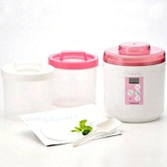 Immediate delivery ★ world first! Temperature control with Yogurt Maker ♪ TANICA YOGURTIA Tanya ヨーグルティア starter set