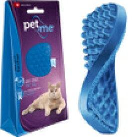 ○【ネコポス1個OK】pet+me/ペットアンドミー ラバーブラシ 猫・短毛種用 【P】