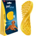 ○【ネコポス1個OK】pet+me/ペットアンドミー ラバーブラシ 犬・短毛種用