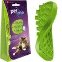 ○【ネコポス2個OK】pet+me/ペットアンドミー ラバーブラシ 猫・長毛種用