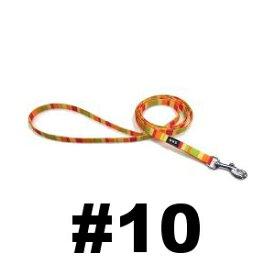 ○【メール便3個・ネコポス4個OK】岡野製作所 レインボーリード オレンジ #10 猫・超小型犬用