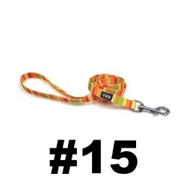○ 岡野製作所 レインボーリード オレンジ #15 小型犬用【メール便OK】
