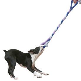 ○株式会社エーアイプロダクツ トラストミー ロープ アクア「W」 犬のおもちゃ