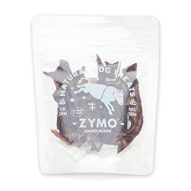 ○ZYMO(ザイモ) 牛肉ジャーキー 25g 犬のおやつ「W」