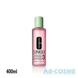 クリニーク CLINIQUE クラリファイングローション 3 400ml[ ブースター・導入液 ]