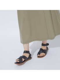 【SALE/40%OFF】【JVAM】NOE クロスサンダル qualite カリテ シューズ サンダル/ミュール ブラック ホワイト【RBA_E】【送料無料】[Rakuten Fashion]