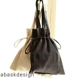 送料無料 巾着トートバッグ バッグ レディース 女性 大人 巾着 合皮 通勤 通学バッグ サブバッグ BAG