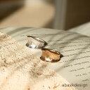 【メール便送料無料】 ヴィンテージ風デントリング 指輪 レディース 太め 幅広 13号サイズ相当 シンプル ゴールド シ…