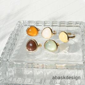 【メール便送料無料】 カラーストーン キャンディリング 指輪 レディース フリーサイズ デザイン 重ね付け アクセ シンプル 女性 プレセント ギフト 大人 可愛い おしゃれ