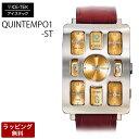 【代引決済不可】【バンド調整:ラッピング無料】ICE TEK アイステック 腕時計Steel Quintempo1 『スチールクインテンポ1』Gold5TZ1-...