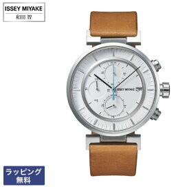 イッセイミヤケ 腕時計 ISSEY MIYAKE SEIKO セイコー W ダブリュ Satoshi Wada 和田 智 クオーツ クロノグラフ メンズ 腕時計 SILAY008