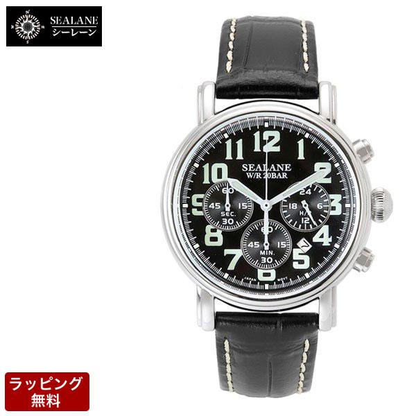 シーレーン SEALANE メンズ 腕時計 SE14-BK