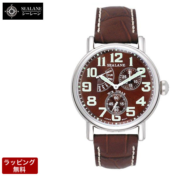 シーレーン SEALANE メンズ 腕時計 SE14-BR
