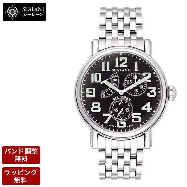 シーレーン SEALANE メンズ 腕時計 SE14-MBK