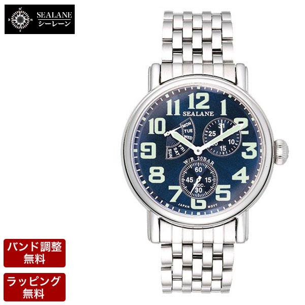 シーレーン SEALANE メンズ 腕時計 SE14-MBL