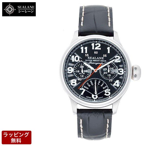 シーレーン SEALANE メンズ 腕時計 SE31-LBK