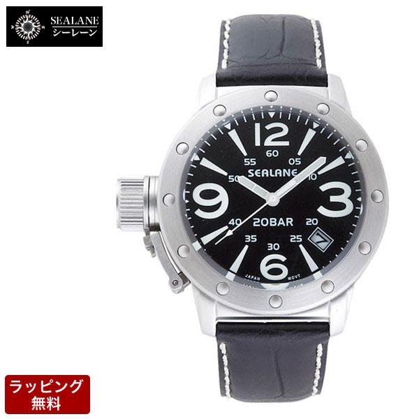 シーレーン SEALANE メンズ 腕時計 SE32-LBK