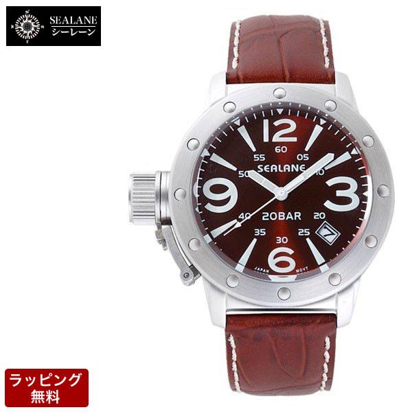 シーレーン SEALANE メンズ 腕時計 SE32-LBR