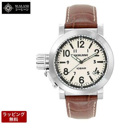【バンド調整、ラッピング無料】SEALANE(シーレーン)腕時計メンズ腕時計SE43-LBK