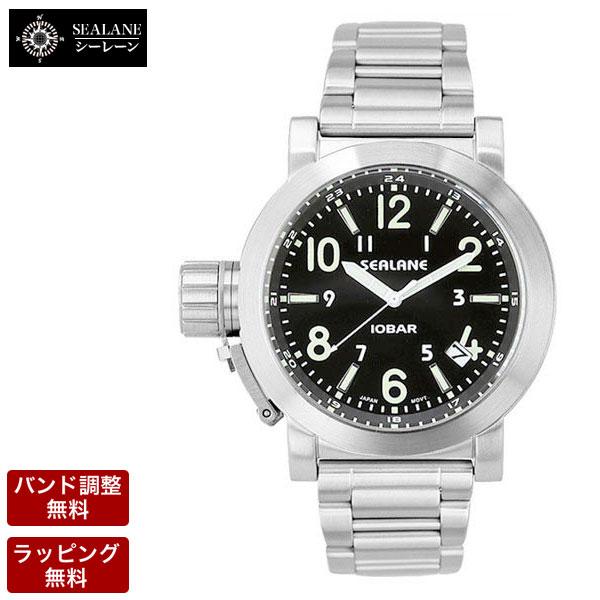 シーレーン SEALANE メンズ 腕時計 SE43-MBK