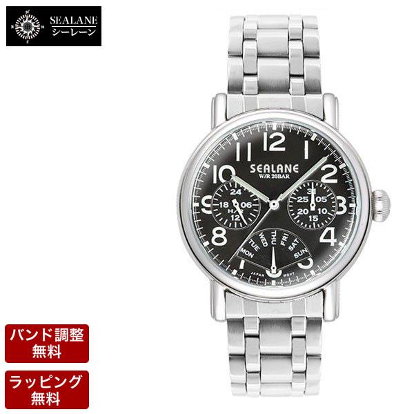 シーレーン SEALANE クオーツ メンズ 腕時計 SE45-MBK