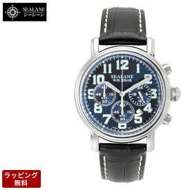 シーレーン 腕時計 SEALANE クオーツ メンズ 腕時計 SE48-LBL