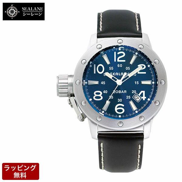 シーレーン SEALANE 自動巻 メンズ 腕時計 SE54-LBL