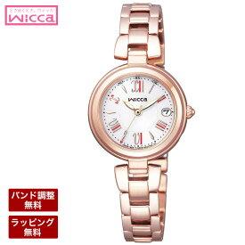 シチズン ソーラー電波時計 腕時計 CITIZEN シチズン wicca ウィッカ レディース腕時計 ソーラーテック電波時計HAPPY DIARY KL0-669-11