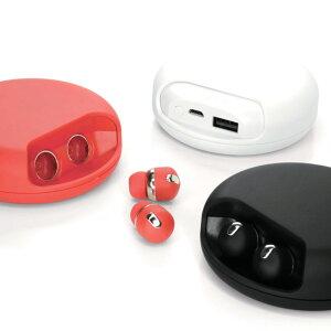 イヤホンBluetooth完全ワイヤレスイヤホンAirTwins(エアーツインズ)モバイルバッテリー付き超小型左右独立完全独立低反発イヤーピース付きYellAcousticエールアコースティック