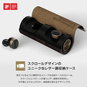 ブルートゥースイヤホン完全ワイヤレスイヤホンPaMuScroll(パムスクロール)モバイルバッテリー付き超軽量左右独立完全独立Padmate無線イヤホンBluetooth置くだけで充電
