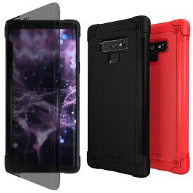 Galaxy Note9 ケース 手帳型 araree N-Flip(アラリー エヌフリップ)ギャラクシー ノート カバー クリア 透明 SC-01L SCV40 Sペン対応