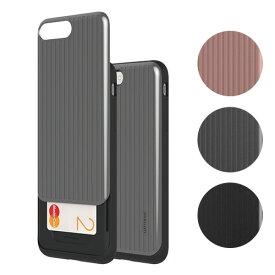 iPhone 8 Plus / 7 Plus ケース Matchnine CARDLA CARRIER(マッチナイン カードラキャリア)アイフォン カバー スライド式カード収納 背面カード収納 5.5インチ