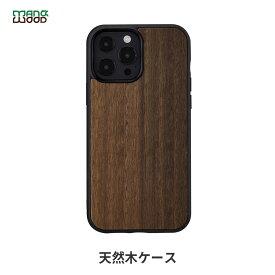 iPhone 13 ケース 天然木 バックカバー Man&Wood Koala 【 iPhone 13 Pro Max / iPhone 12 Pro Max / 11 Pro Max 】 木製 アイフォン13 ケース 背面カバー型 アイフォンケース
