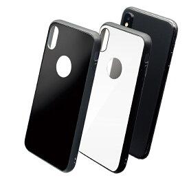 iPhone XS / X ケースmuvit GLASSKIN GLASS CASE(ムービット グラスキン グラスケース)ガラス アイフォン カバー