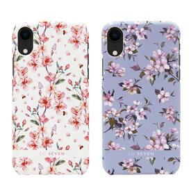 iPhone XS / X ケース iPhone XR ケース SO SEVEN FASHION TOKYO(ソー セブン ファッショントーキョー)アイフォン カバー 背面カバー型 花柄