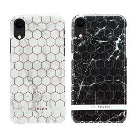 iPhone XS / X ケース iPhone XR ケース SO SEVEN MILAN HEXAGONAL MARBLE(ソー セブン ミランヘキサゴナルマーブル)アイフォン カバー
