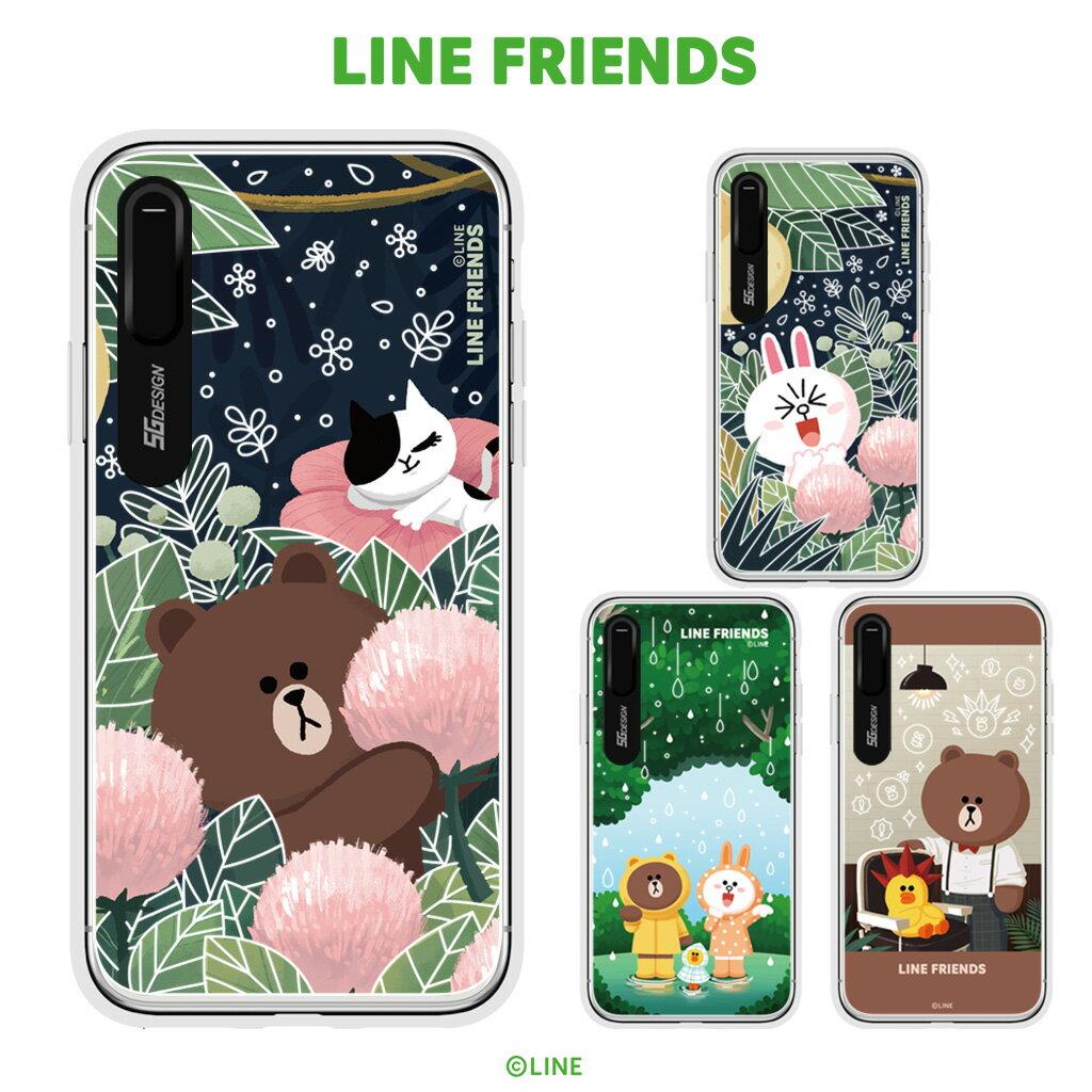 iPhone XS / X ケース iPhone XS Max ケース iPhone XR ケースLINE FRIENDS LIGHT UP CASE テーマ(ラインフレンズ ライトアップケース)光る アイフォン カバー
