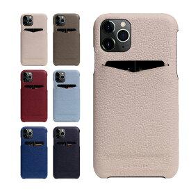 iPhone 11 Pro ケース 背面ケース 本革 SLG Design D8 Full Grain Leather Back Case フルグレインレザー パステル カラー 9色