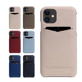 iPhone 12 Pro / 12 ケース 本革 SLG Design 革 ケース レザー スマホケース iphoneケース カバー スマホカバー イフォン12 アイフォン iphone 12 スマホアクセサリー フルグレイン シボ加工