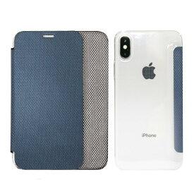 【訳あり アウトレット】iPhone XS / X ケース iPhone XR ケース ZENUS 背面クリア手帳型ケース Metallic(ゼヌス メタリック)アイフォン カバー 5.8インチ