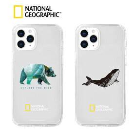 アイフォン 12 ケース ナショジオ Into the Wild iphone 12 pro max カバー iphone 12 pro カバー iphone 12 mini ケース 背面 ケースクリア ハイブリッド 耐衝撃 クリア 韓国