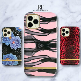 iPhone 11 Pro iPhone 11 ケース iphone11ケース Richmond & Finch FASHION CASE ピンクノット レッドレオパード ブルーミングピオニーズ(リッチモンドアンドフィンチ ファッションケース)5.8インチ 6.1インチ アイフォン 背面 カバー