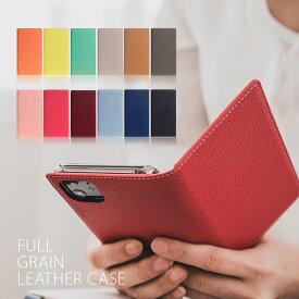 iPhone 12 Pro / 12 ケース [iPhone 11 / iPhone XR ケース] SLG Design Full Grain Leather Case (フルグレインレザーケース)【カード収納 / 横開き】 メンズ レディース シンプル マグネットなし ワイヤレス充電対応