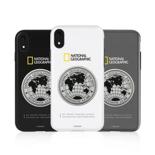 iPhone XS / X ケース iPhone XR ケース iPhone8/7 ケース カバー iPhone8Plus/7Plus ケース National Geographic Global Seal Metal-Deco Case(ナショナル ジオグラフィック グローバルシールメタルデコケース) カバー ナショジオ