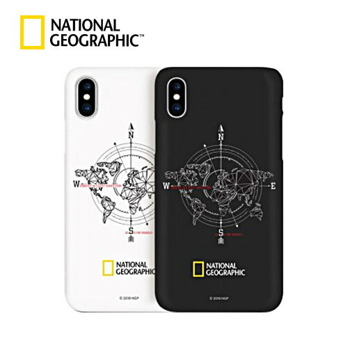 iPhone XS / X ケース iPhone XR ケース iPhone XS Max ケース iPhone8/7 ケース カバー iPhone8Plus/7Plus ケース National Geographic Compass Case Double Protective アイフォン カバー ナショジオ